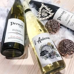 Les vins d'Alsace Pernet pour votre fin d'année