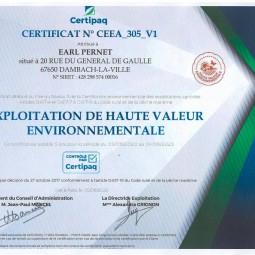 Domaine Haute Valeur Environnementale